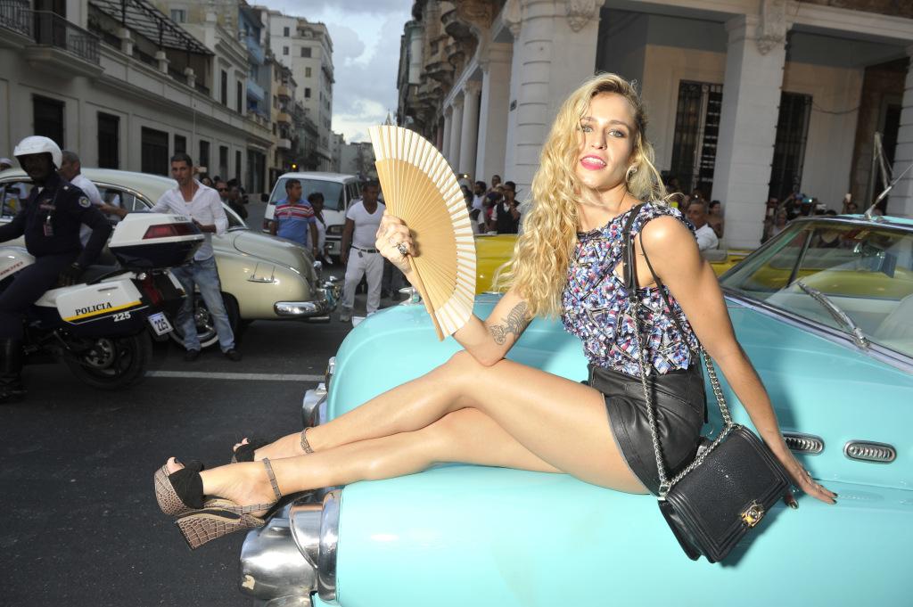 Chanel Resort 2017 in Havana, Cuba.